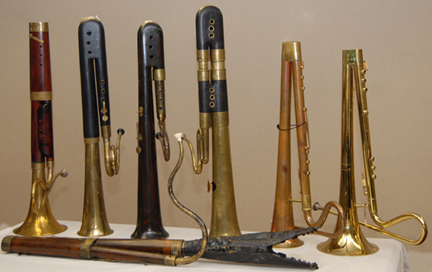 Berlioz Historical Brass : Instruments : Bass Horns