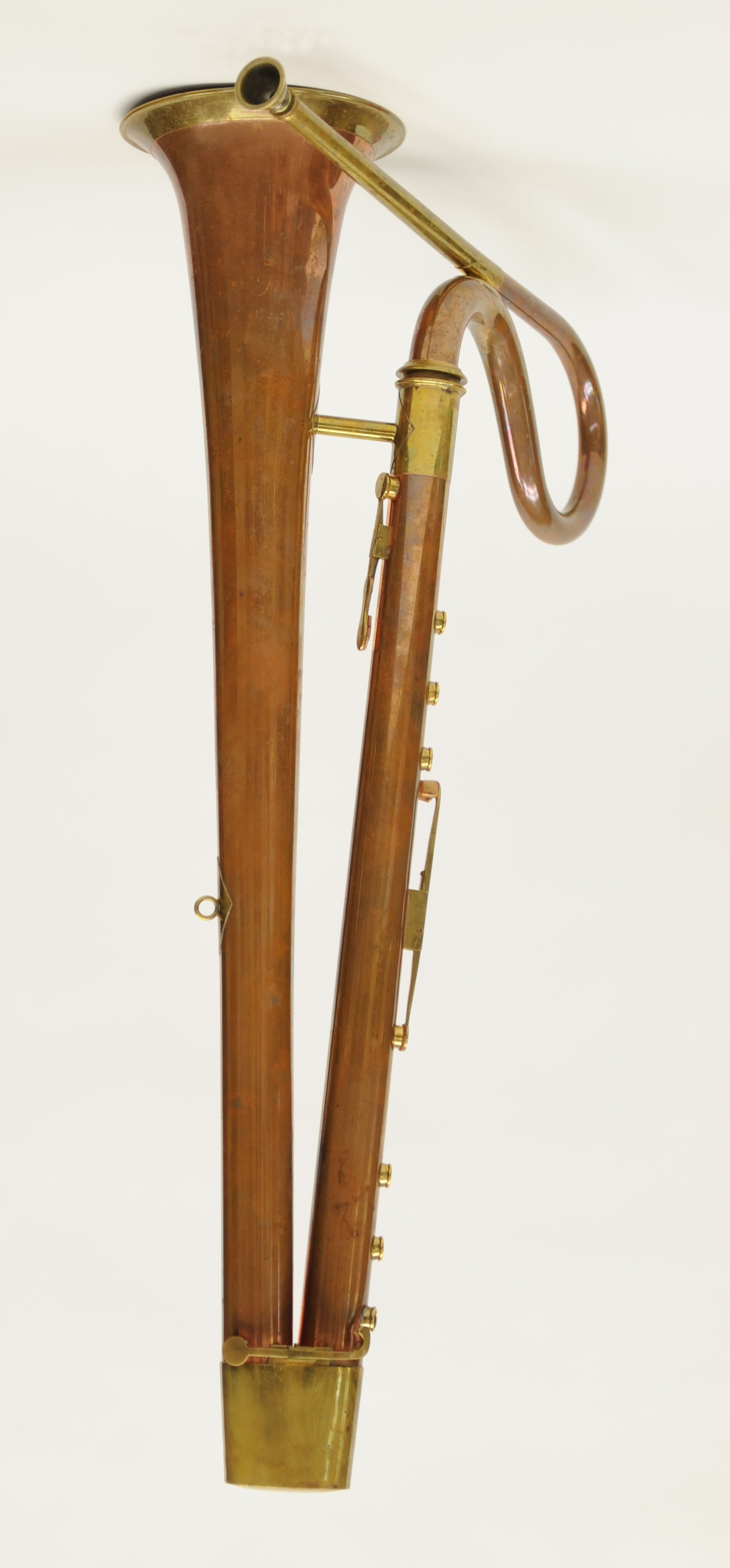 Berlioz Historical Brass : Instruments : English Bass Horn